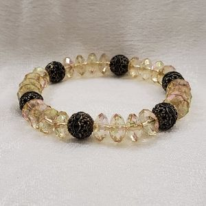 NEW Ann Taylor Irridescent Stretch Bracelet #1526